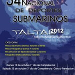 Resultados del 54 Campeonato Nacional de Deportes Submarinos TAL TAL 19-20 Octubre - FEDESUB Chile
