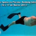 Chequeo Nacional de Apnea en piscina 2013. Asociacin Apnea Venezuela