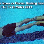 Resultados Chequeo Nacional de Apnea en piscina 2013. Asociacin Apnea Venezuela