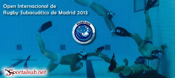 Resultados Open Internacional de Rugby Subacuático de Madrid 2013. España + VIDEO Final