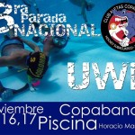 3ra Parada Nacional Hockey Subacuático 2014 en Copacabana, Colombia + Video