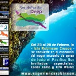 South Pacific Deep, Primer torneo de apnea en Robinson Crusoe, Chile