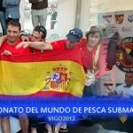 Portugués Jody Lot y Equipo de España se titulan Campeones Mundiales de Pesca Submarina 2012