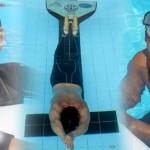 Sandra Escobar y Antonio del Duca se titulan en Apnea Dinámica de los Juegos Bolivarianos de Playa Lima 2012