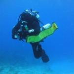 Mexicano Leobardo Morales rompe récord mundial para buzo con capacidades diferentes al sumergirse 125 metros