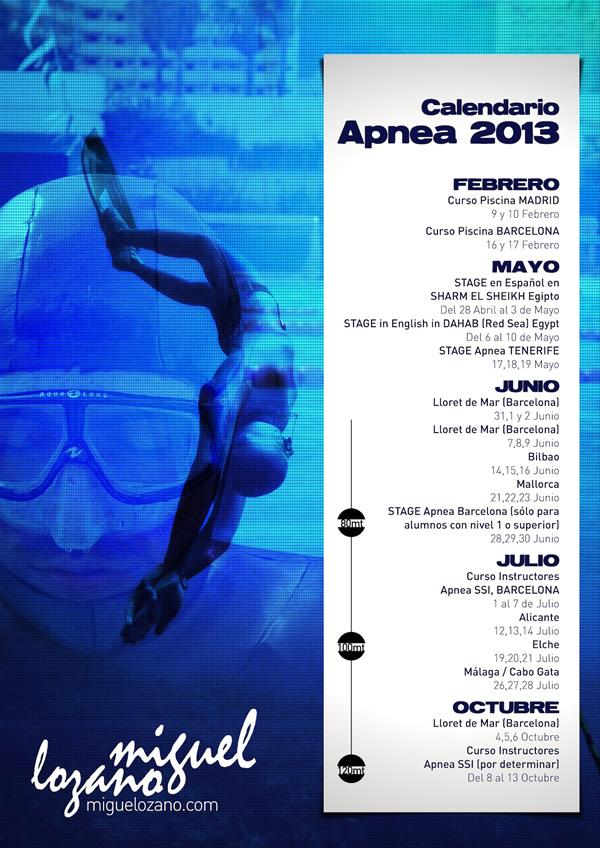 Calendario 2013-3 Bajo