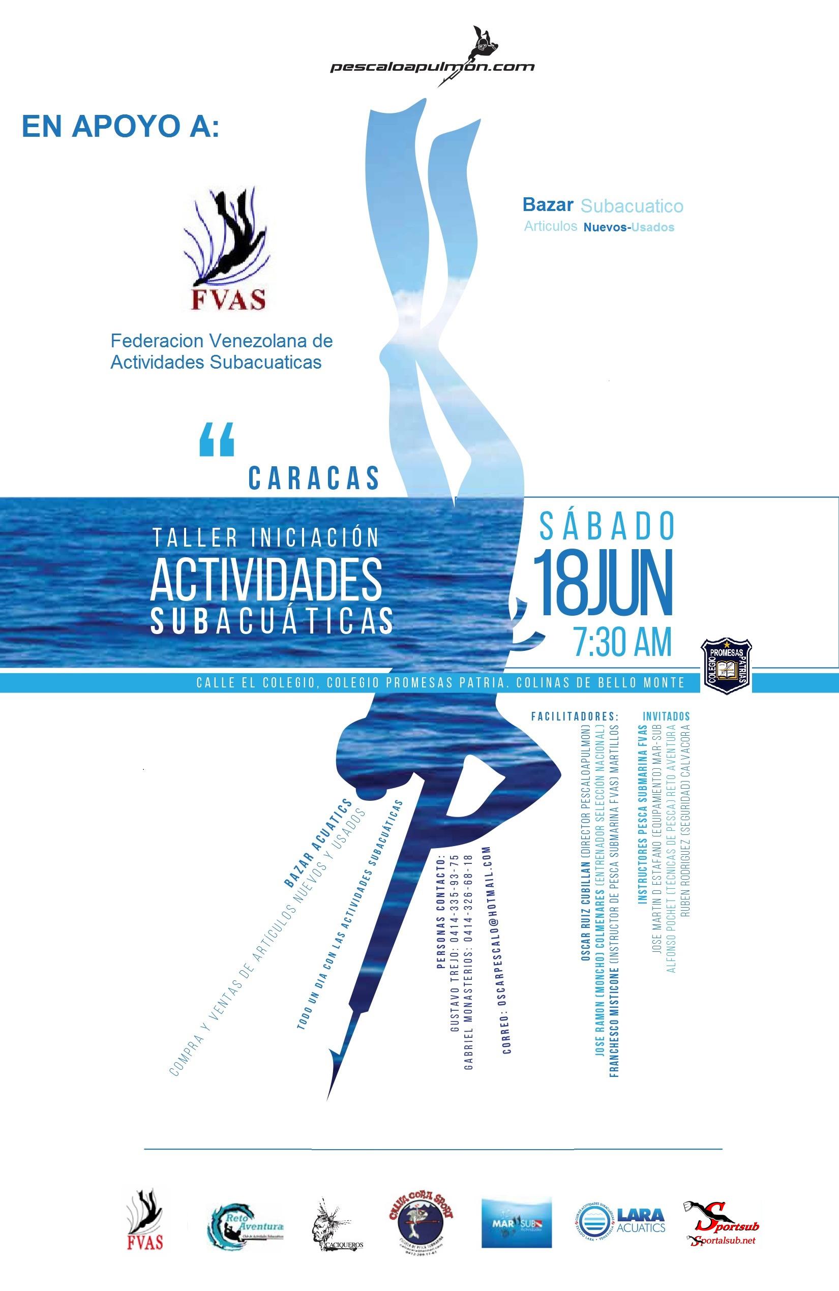 Afiche-Taller-Caracas-Junio-2016
