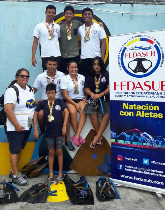 [RESULTS] – National Finswimming Selective Championship in speed events – FEDASUB – Ecuador 2018, Finswimmer Magazine - Finswimming News