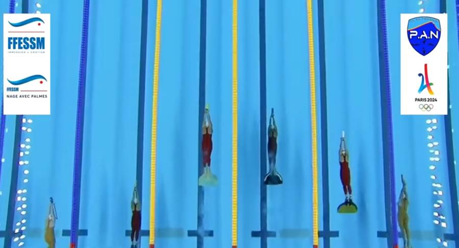 Nueva Campana Natacion Con Aletas A Los Juegos Olimpicos Paris 2024