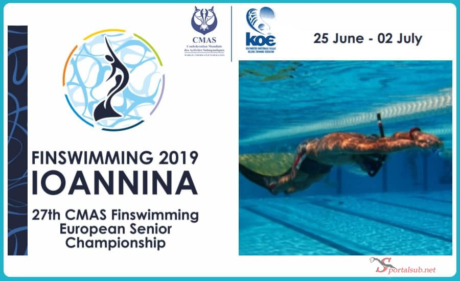 🇬🇷 Results – 27th CMAS Finswimming European Championships